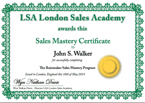 Self- study sales training programs
