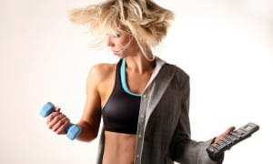 Women who exercise earn more