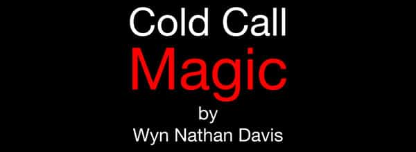 The Rainmaker Cold Call Magic Live Event